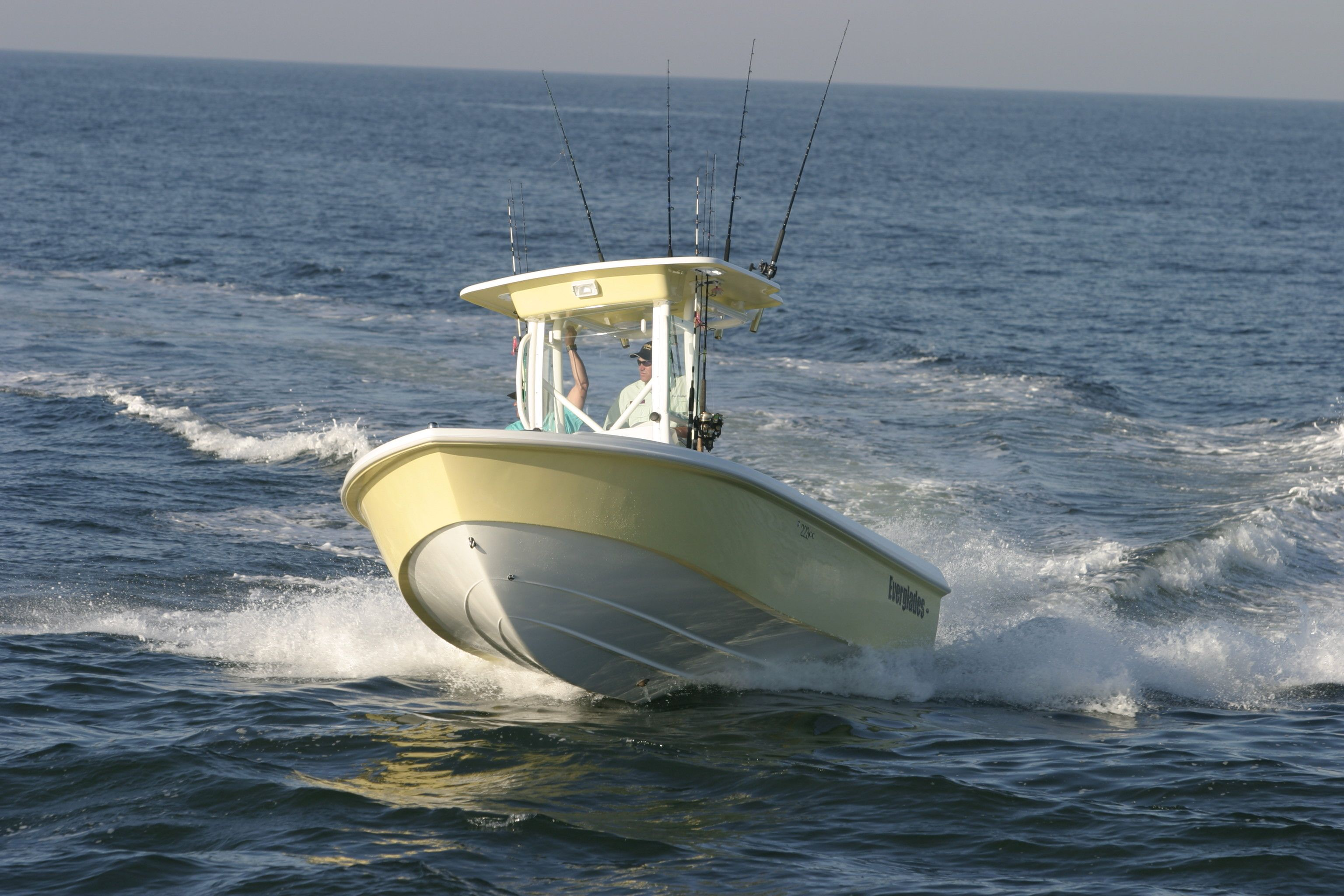 Everglades 223cc Center Console Boats Boat Fishing Boats