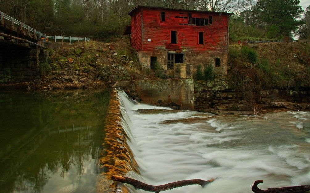 Old red mill grist mill albertville alabama albertville
