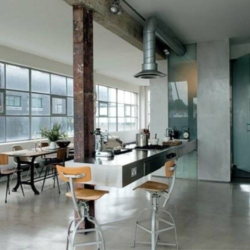 30 Cool Industrial Design Kitchens: 45 Cool Industrial Kitchen Designs That Inspire
