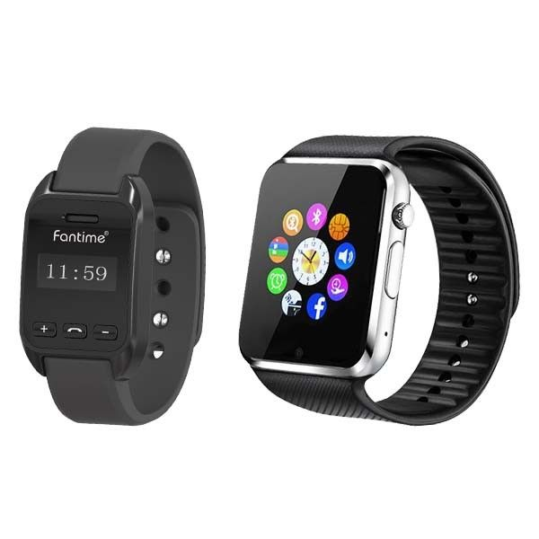 1b264b8adda  Bundle Offer  Fantime - SW08   SW02 Smart Phone Watch with SIM Card and Memory  Card (Pedometer