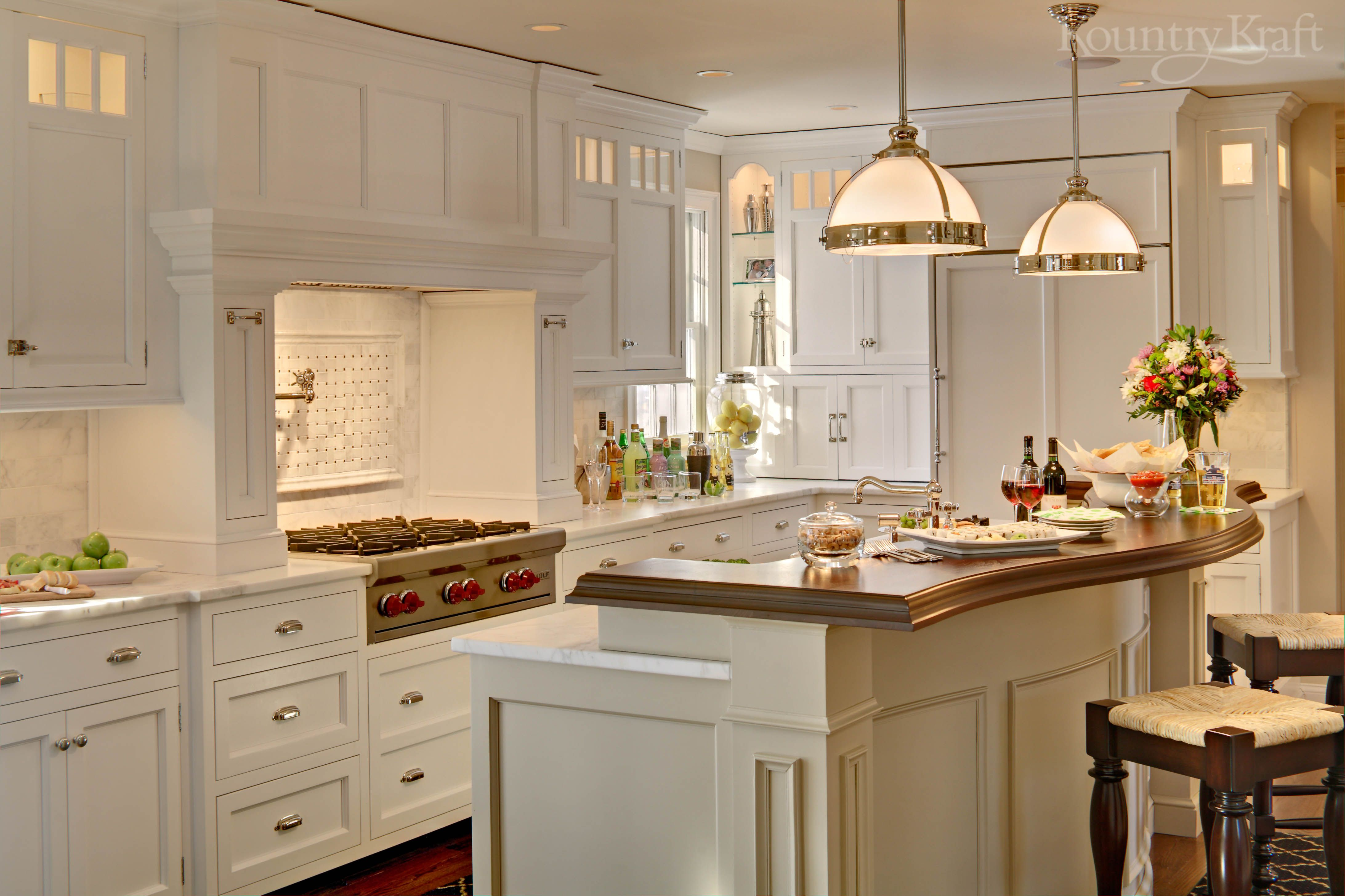Painting Your Kitchen Cabinets Is No Small Undertaking: Custom Kitchen Cabinets Designed By Tom McCloskey Of