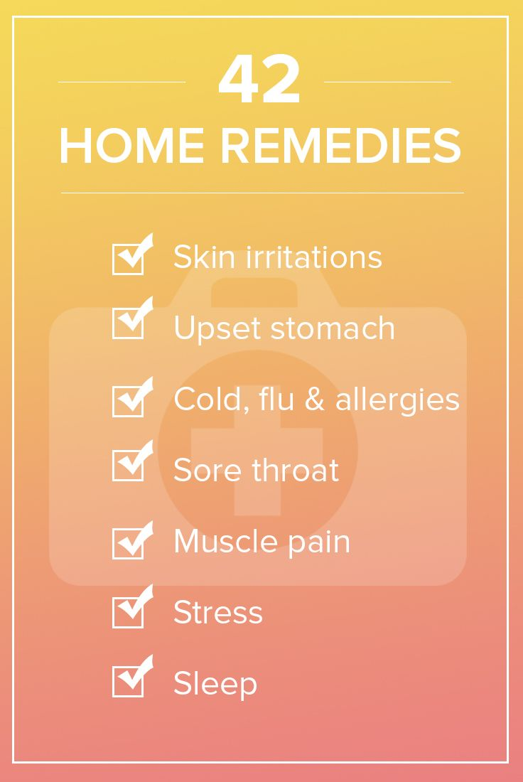 42 quick home cures: Stock up on these doctor-tested essentials