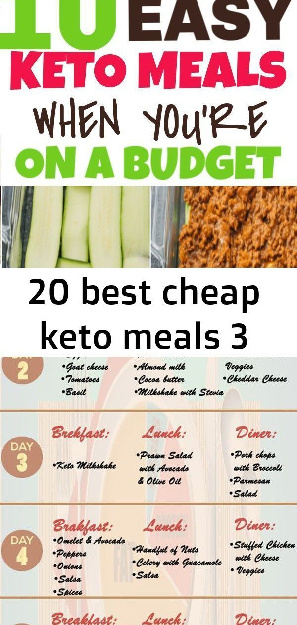 #cheap #keto #Meals 10 easy keto meals when you need to do the ketogenic diet on a budget. These low...