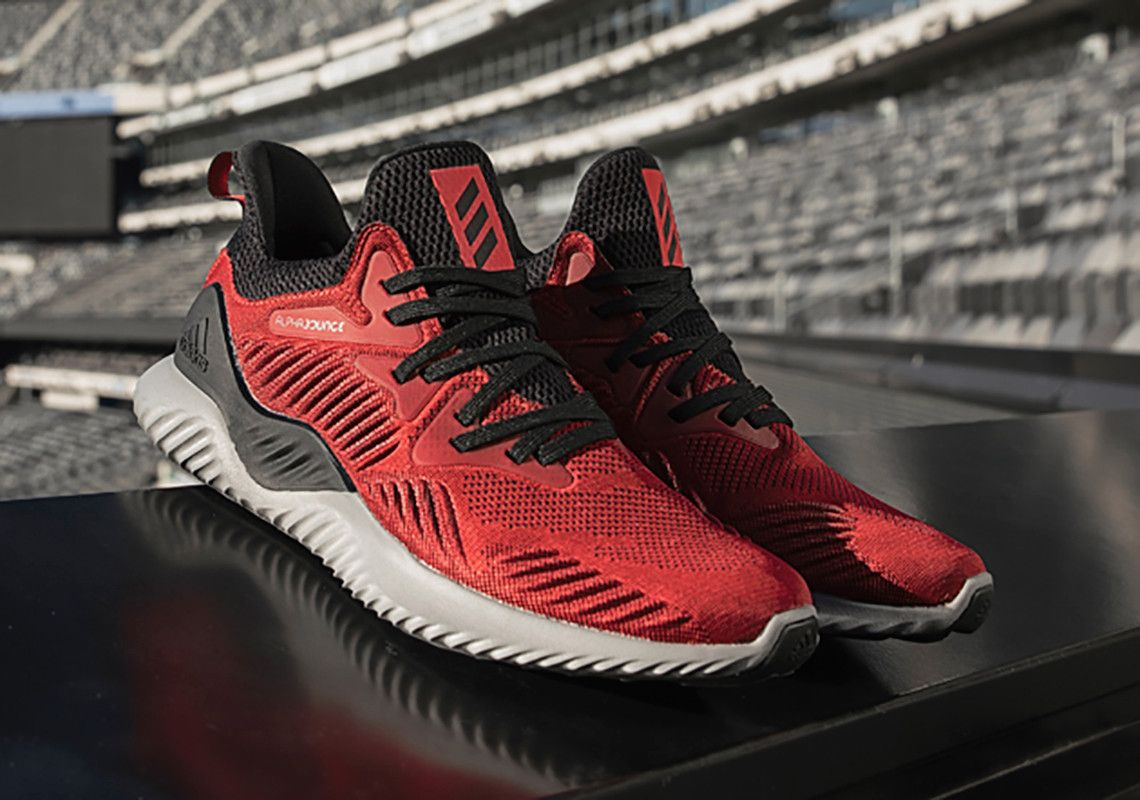 sports shoes cee44 ec6bd adidas new AlhpaBOUNCE Beyond silhouette is strategically designed for  athletes who use running as a