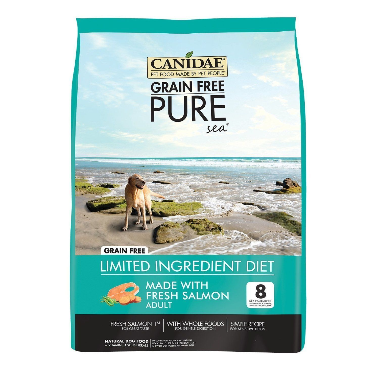 Canidae Grain Free Pure Sea Adult Dog Food 4 Lbs Find Out