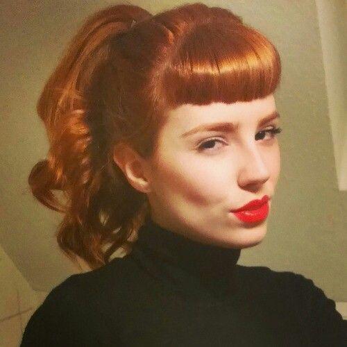 Vanessa Frankenstein Vintage Hairstyles Hairstyles With Bangs Rockabilly Hair