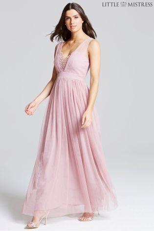 Womens Rose Jewel Bust Dress Little Mistress PixqGO3RFK