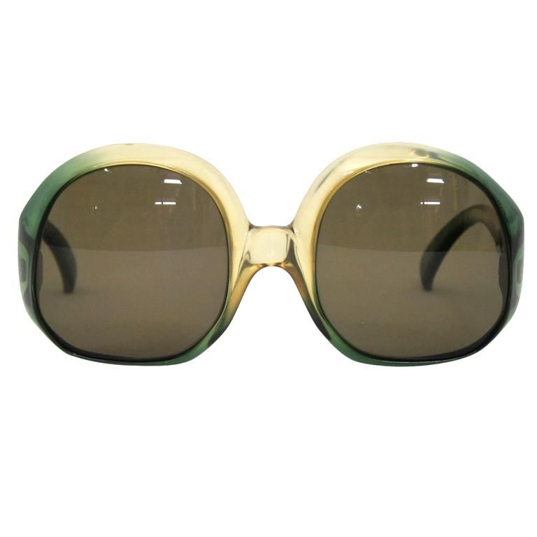 2a87cbc0fb VINTAGE CHRISTIAN DIOR OVERSIZED SUNGLASSES