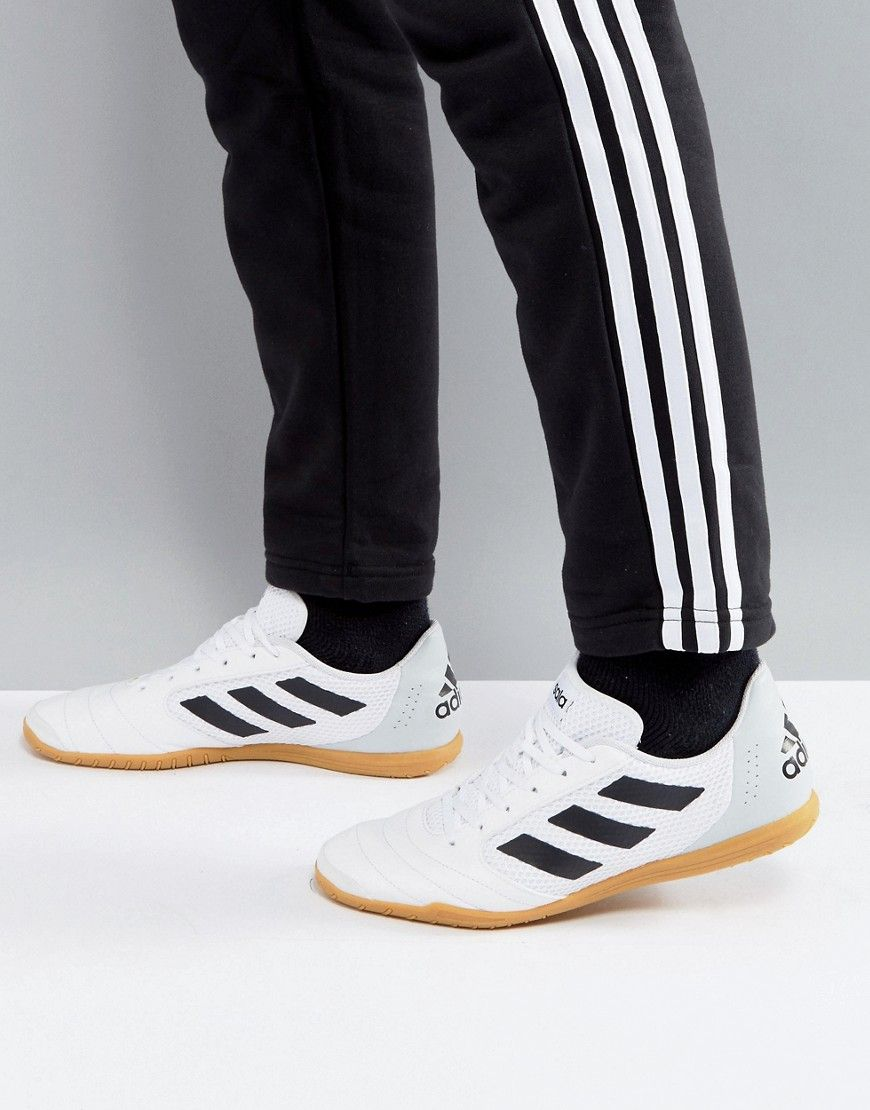 2d57065de553 ADIDAS ORIGINALS ADIDAS SOCCER ACE 17.4 INDOOR SNEAKERS IN WHITE BY1956 -  WHITE.  adidasoriginals