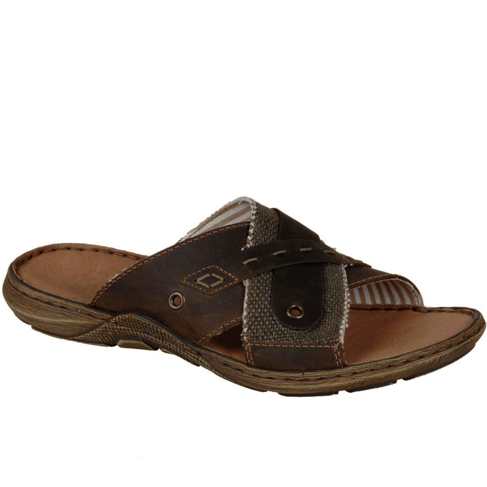96394b11d Rieker Connor Mens Leather Sandals in 2019