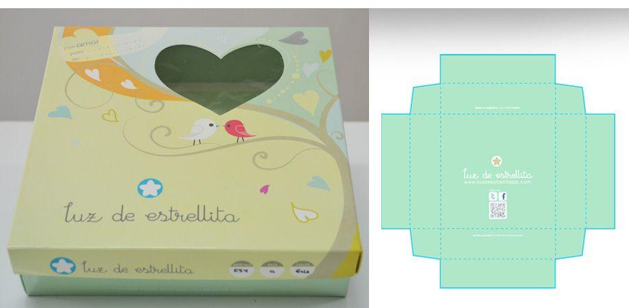 Diseño De Caja P Ropa Bb Disenos De Unas Luces De Estrellas Diseño De Caja