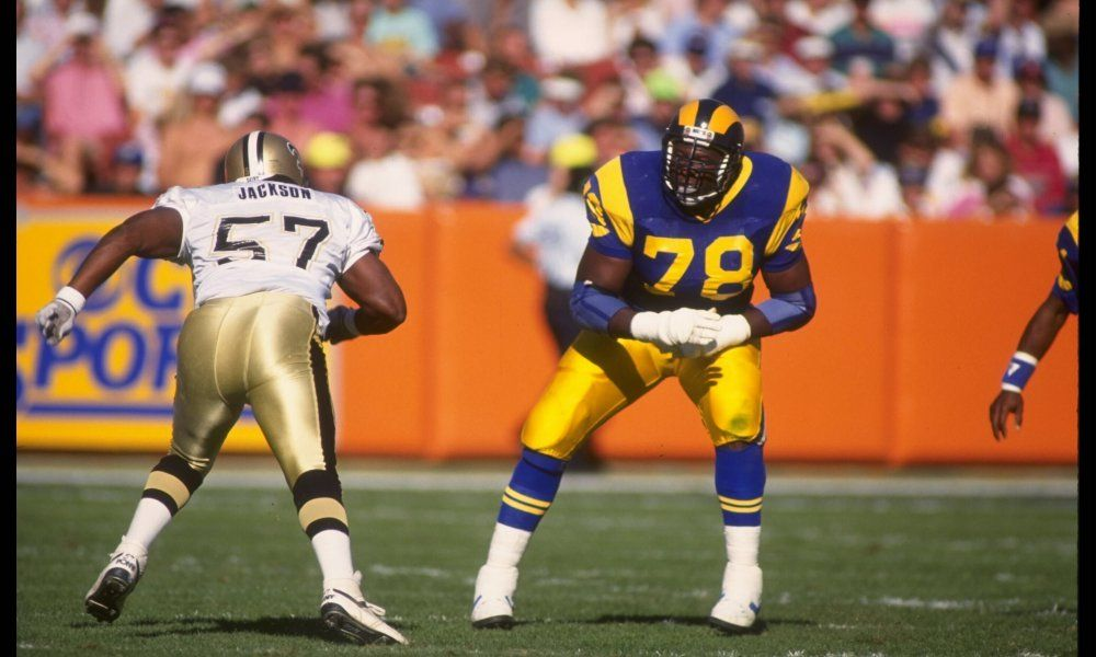 Creating The All Time Rams Roster Offensive Line Los Angeles Rams Jackie Slater New Orleans Saints