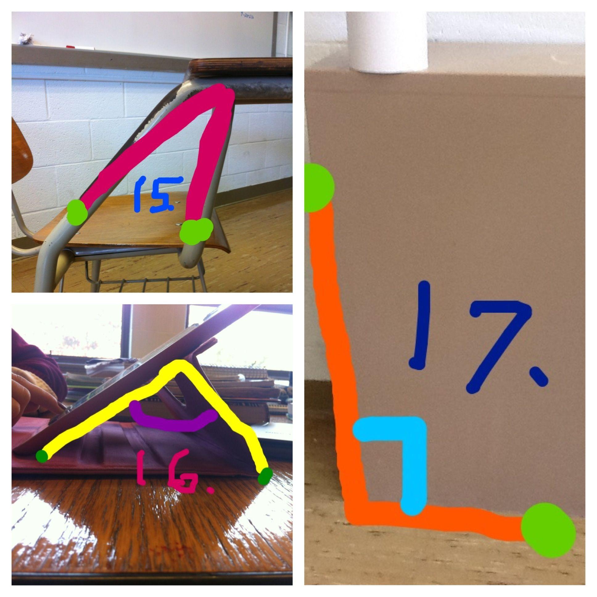 15 Acute Angle 16 Right Angle 17 Obtuse Angle