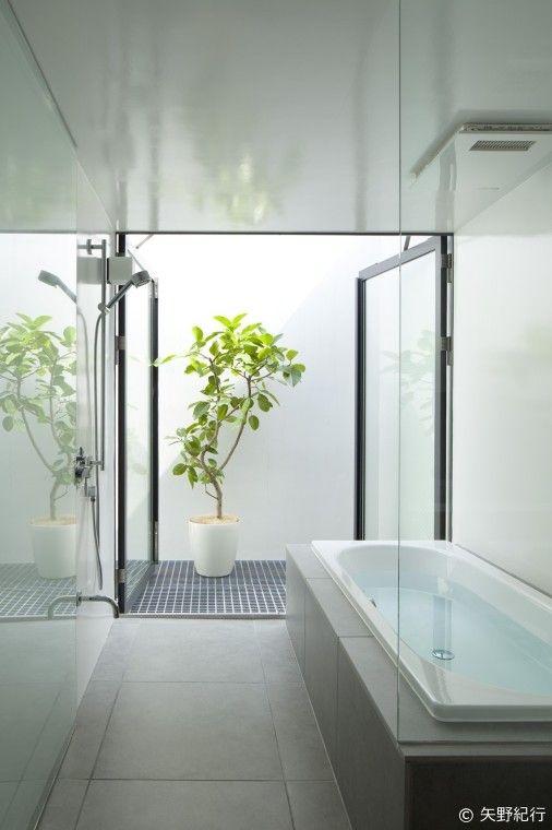 神宮前の家 バスルーム 浴室 インテリア 浴室 モダン