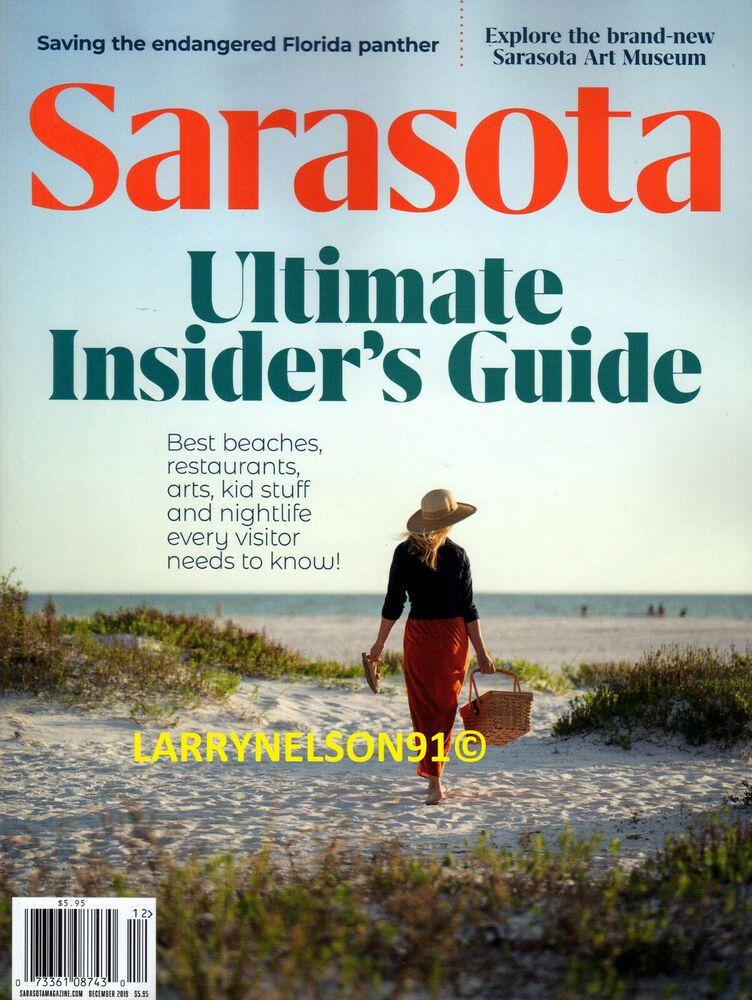 Guide To Sarasota Beaches: SARASOTA MAGAZINE DECEMBER 2019 INSIDER GUIDE BEACHES