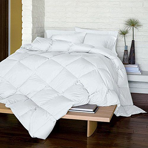 Lacrosse Primaloft Comforter Light Warmth Queen White With