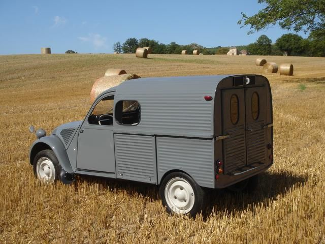 2cv camionnette 1960 citroen 2cv fourgonnette pinterest camionnette et 2cv. Black Bedroom Furniture Sets. Home Design Ideas