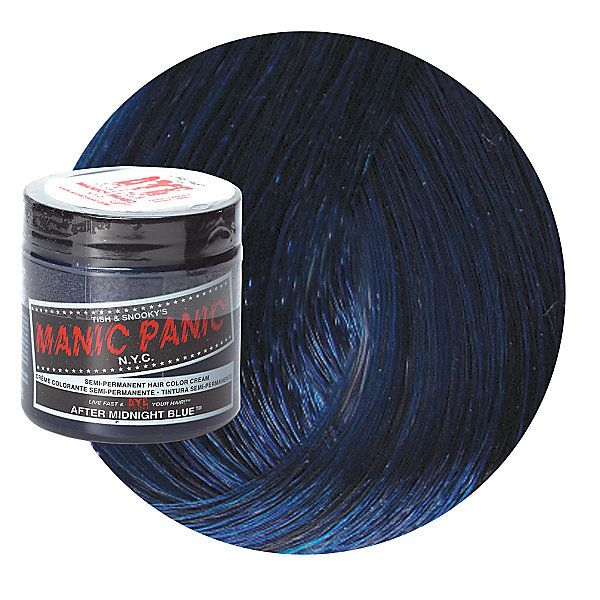 Midnight Blue Semi Permanent Cream Hair Color Permanent Blue