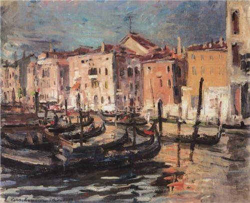 Venice, 1894 - Konstantin Korovin (Russian, 1861-1939) Impressionism