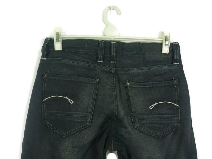 Men's G-STAR Porter Straight Jeans Size 32/34 W32 L34 Blue Grey Cotton Denim 3 #GStar #ClassicFitStraight