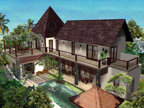 bali villa design google search - Bali Home Designs