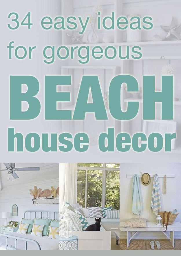 Easy Beach House Decor  Kristin\u0027s clipboard on Hometalk Idea Box