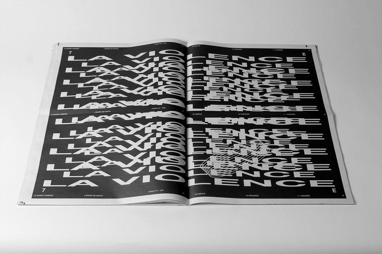 """typografika: """" https://www.behance.net/gallery/34932265/TRAVAIL-DE-DIPLOME-LENFER-DE-DANTE """""""