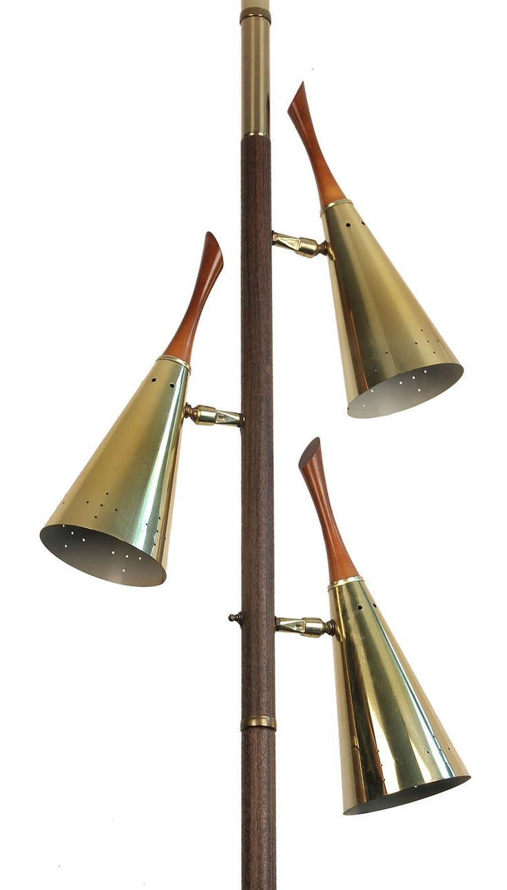Mid Century Tension Pole Floor To Ceiling Lamp In 2018 Mid Century