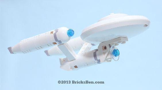 Bricksben Lego Star Trek Uss Enterprise Ncc 1701 1 Star Trek