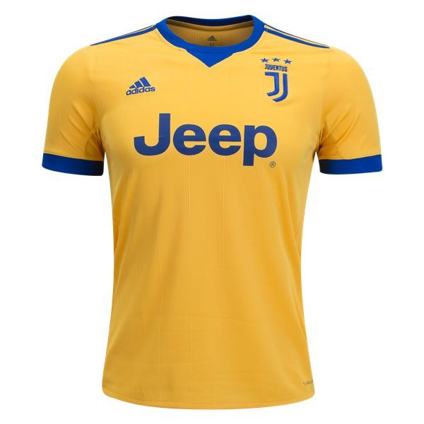 Juventus Away Soccer Jersey 17/18 This is theJuventus Away Football Shirt2017 2018. Juventus finished the 2016-17 season with a sixth straight Serie A title and a trip to the Champions League final. Show your support for the Old Lady. The Juventus badge makes its away jersey debut, embroidered on the chest, along with the logo. […]