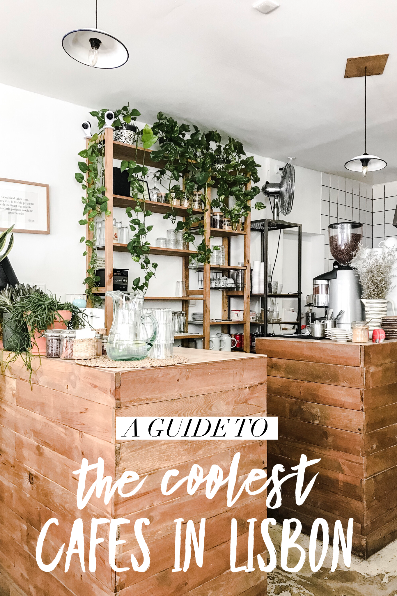 A Stylish Guide to the Coolest Cafes in Lisbon, Portugal - Live Like It's the Weekend #lisbon