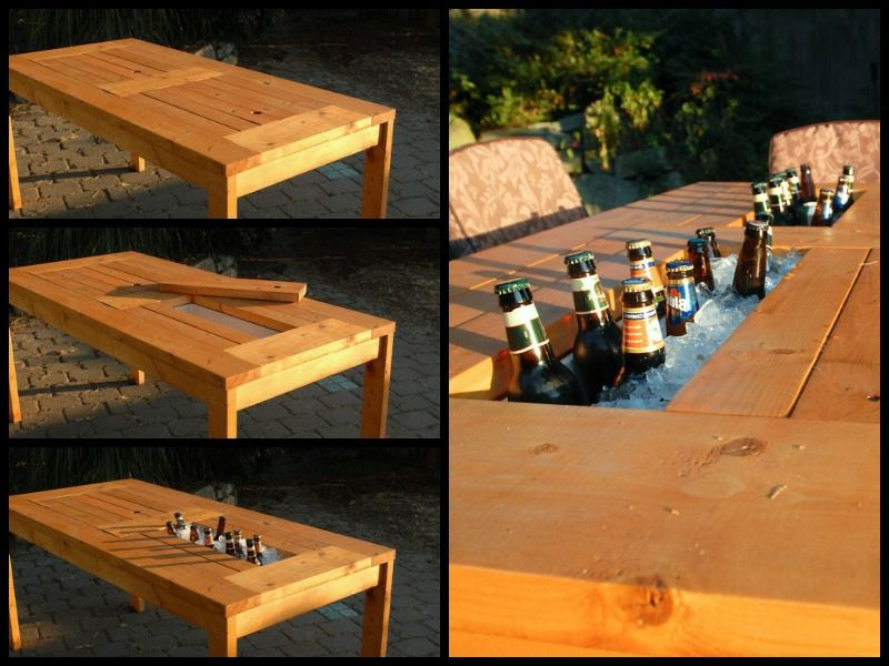 Gartentisch selber bauen  Gartentisch selber bauen - Anleitung - DIY, Garten, Haus & Garten ...