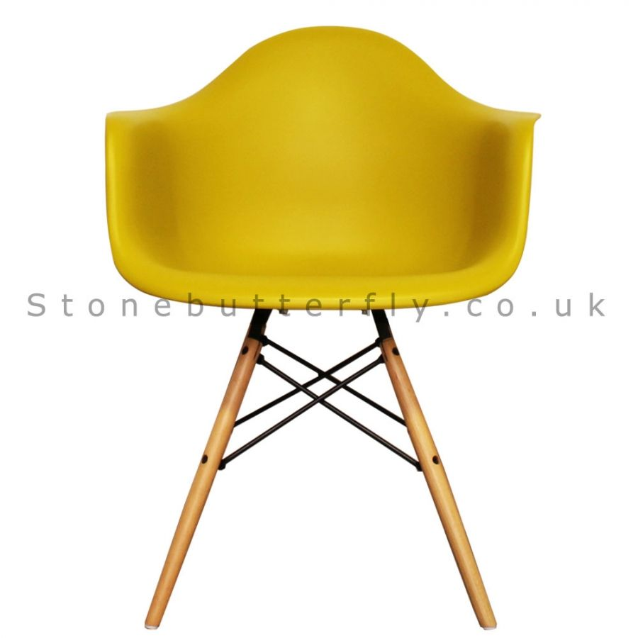 charles ray furniture. Charles Ray Eames Style DAW Arm Chair - Mustard Furniture S