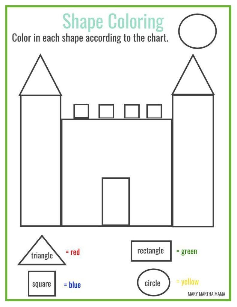 Printable Square Shape Worksheets Math Free Coloring Naming 2d Shapes Wo Shape Worksheets For Preschool Shapes Worksheet Kindergarten Free Preschool Worksheets