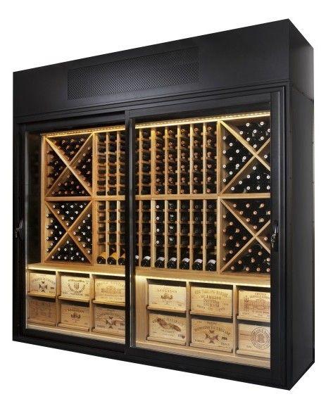 wine+walls | Wine Wall Oak Racking | Christmas ideas | Pinterest ...