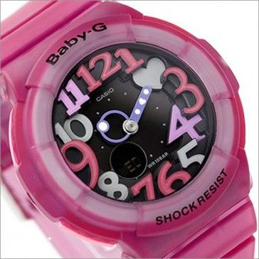 f078a12984c9 BUY Casio Baby-G Neon Illuminator Alarm Purple Pink Watch BGA-131-4B4,  BGA131 - Buy Watches Online   CASIO NZ Watches