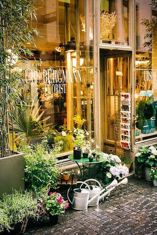 Florist In Zurich, Switzerland Why Do I Like All The European Garden Stores?
