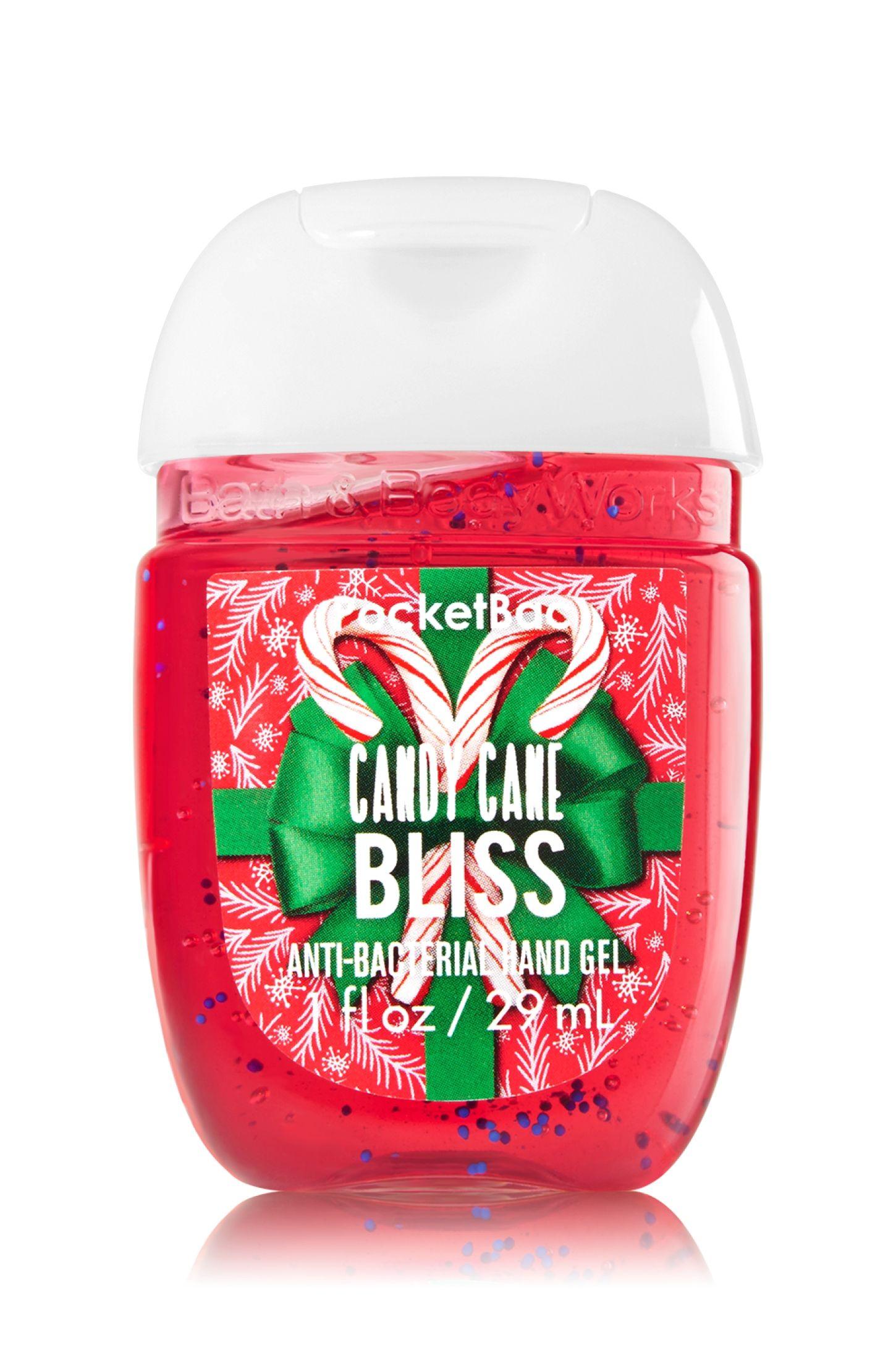 Candy Cane Bliss Pocketbac Sanitizing Hand Gel Soap Sanitizer