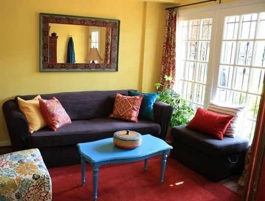 captivating indian small living rooms decorating ideas | Small Cool 2010: Erika & Kevin's Combined Apartments in ...