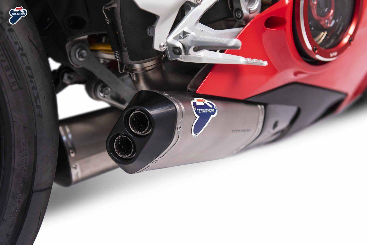 Termignoni Ducati Panigale V4 Dual Racing Exhaust System Ducati