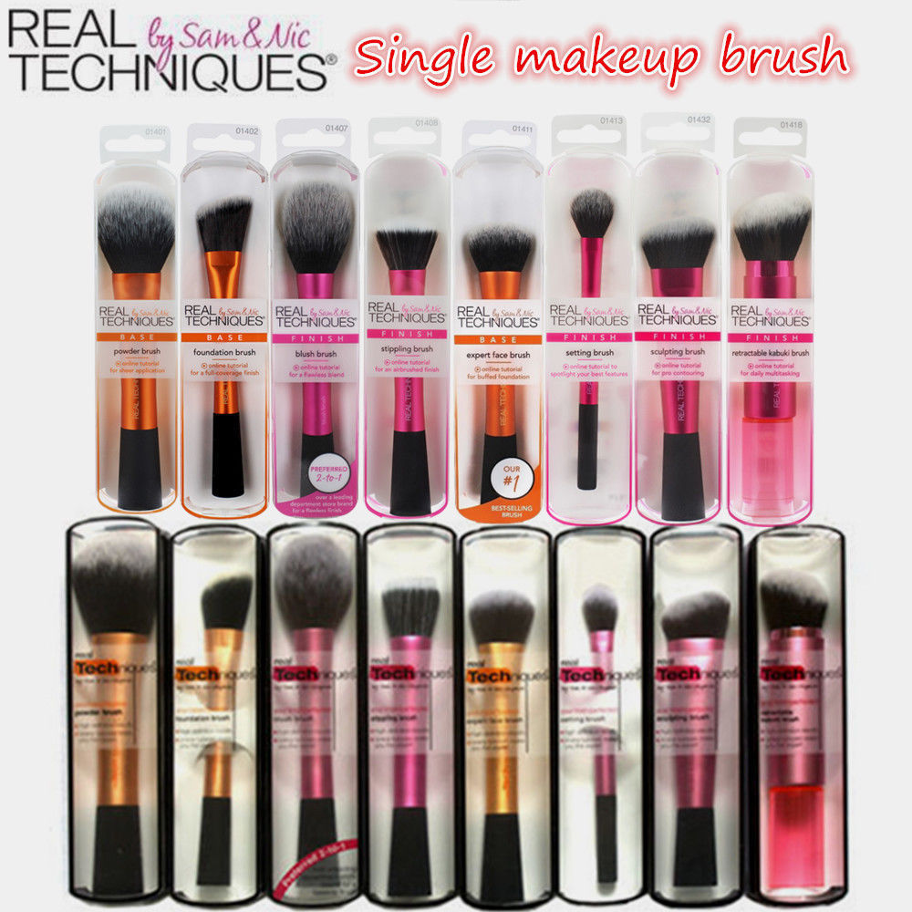 Real Techniques Makeup Brushes eBay Health & Beauty