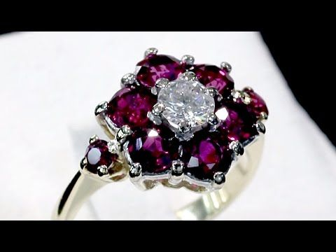 130c61669497b Pin by Colleen Raynor on Jewels   Diamond cluster ring, Vintage ...