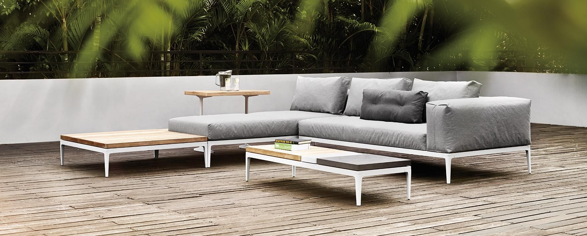 Great Outdoor Lounge Furniture Grid | Gloster Furniture
