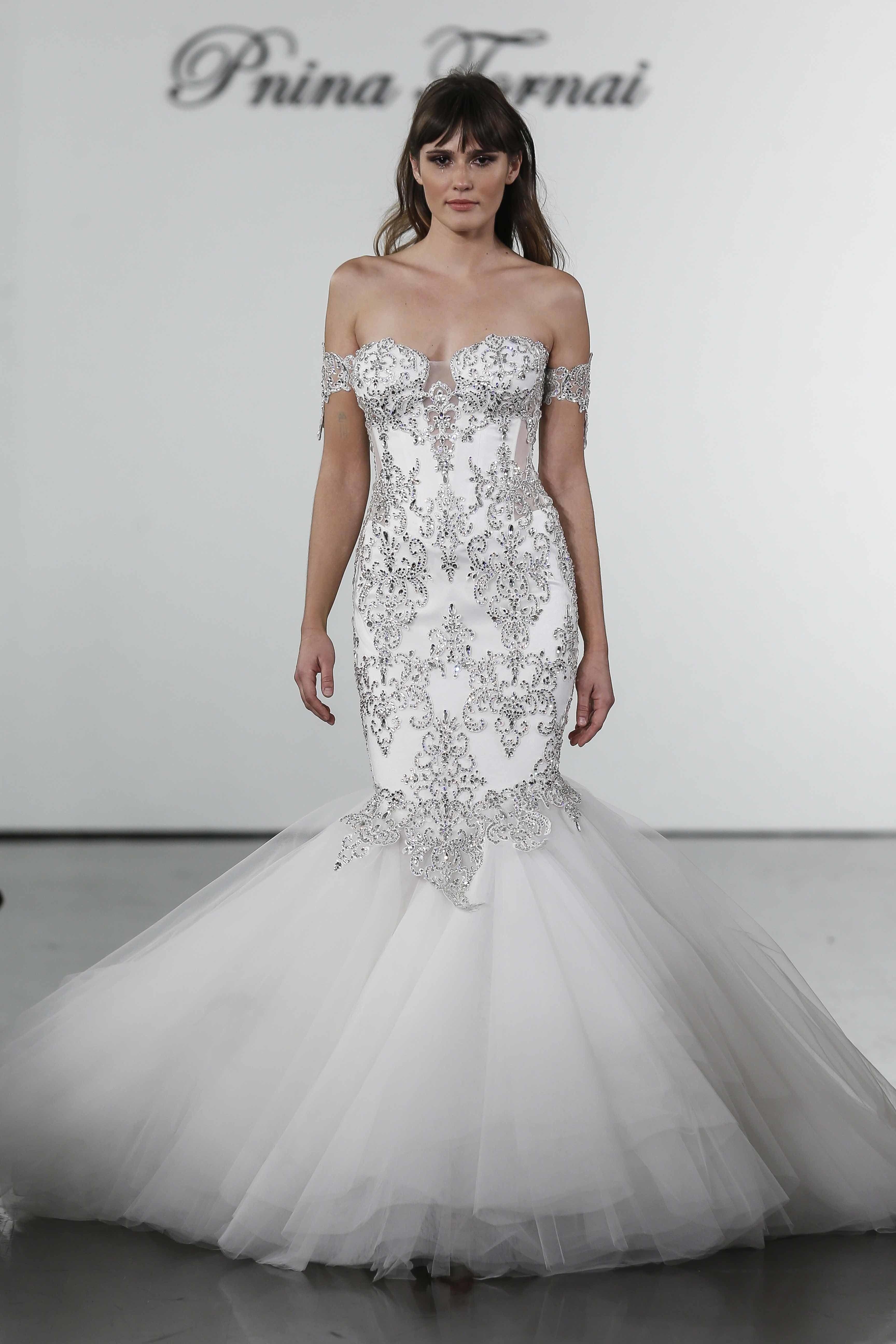 Pnina Tornai Bridal Wedding Dress Collection Fall 2019 Brides Expensive Wedding Dress Pnina Tornai Wedding Dress Most Expensive Wedding Dress