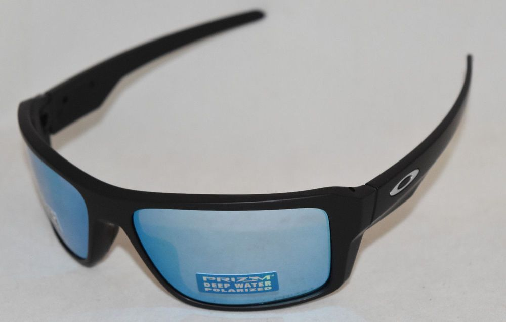 5b36f0749a NEW OAKLEY DOUBLE EDGE OO9380-1366 BLACK W  PRIZM DEEP H2O POLARIZED LENS (
