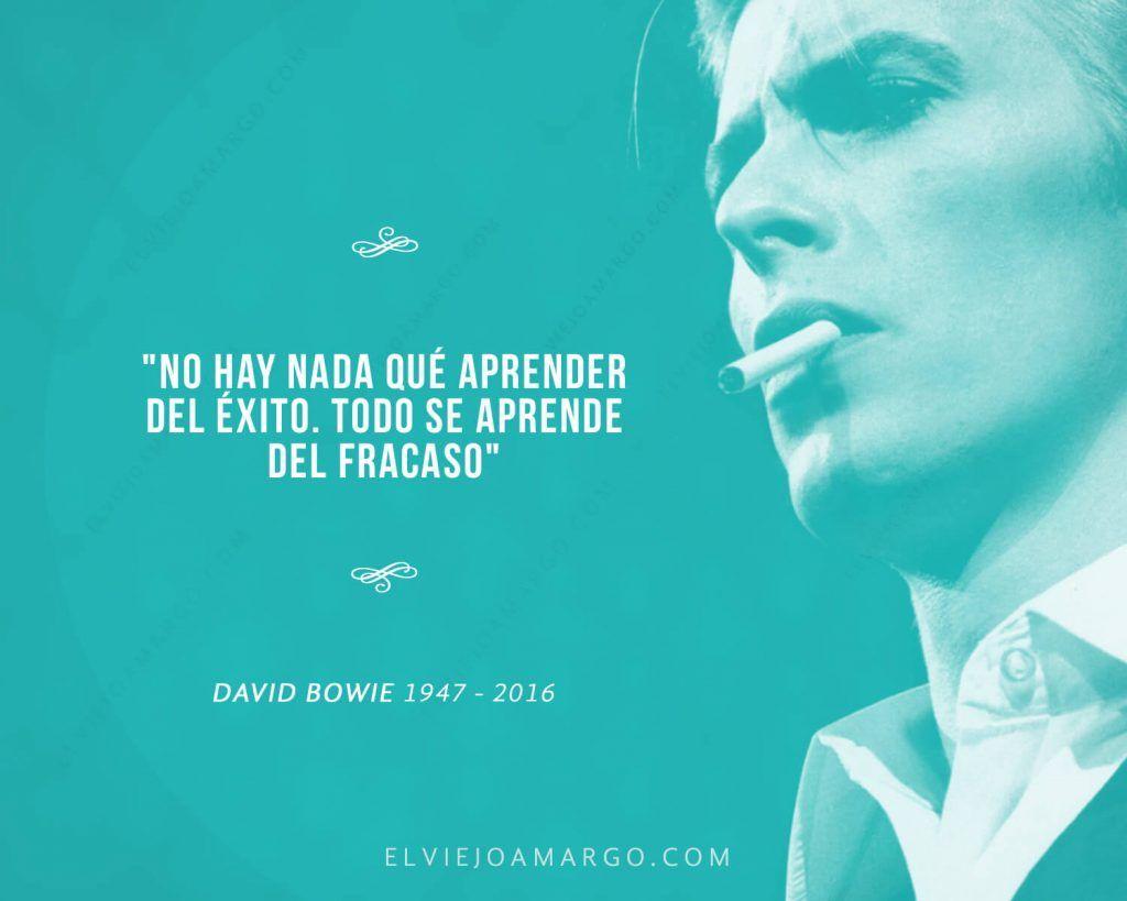 Viejo Amargo David Bowie Frases Exito