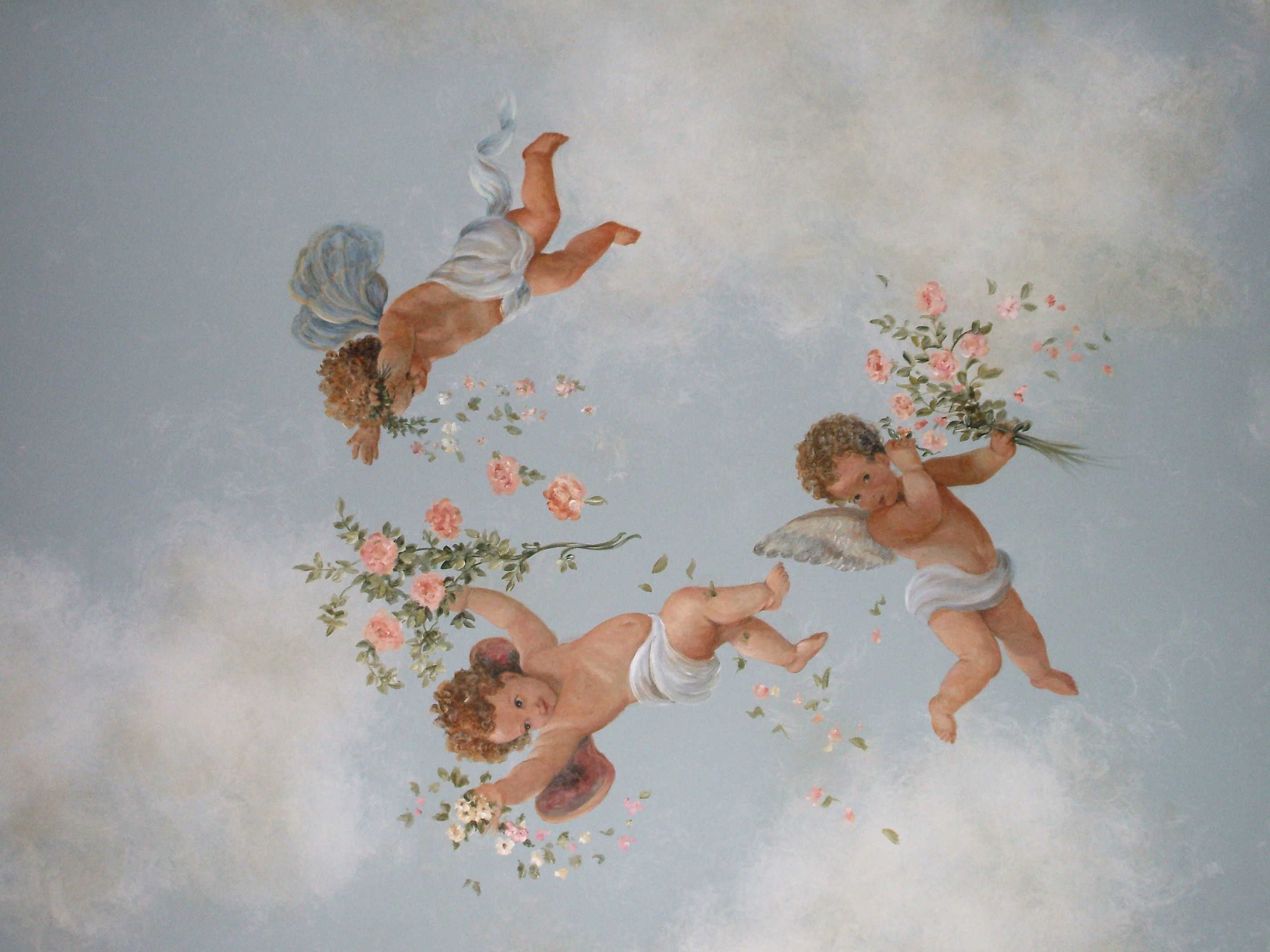 Aesthetic Wallpaper Angel Get Wallpaper Hd In 2020 Angel Wallpaper Angel Painting Angel Aesthetic