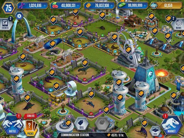 Hack Jurassic World The Game 1 13 9 iOS 10 Hack and Android