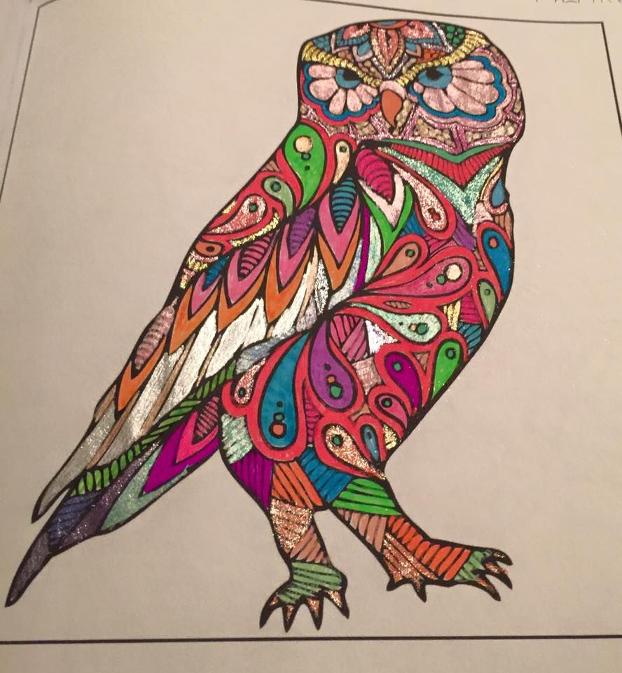 From Adult Coloring books by Zing Books. | Colored pages | Pinterest ...