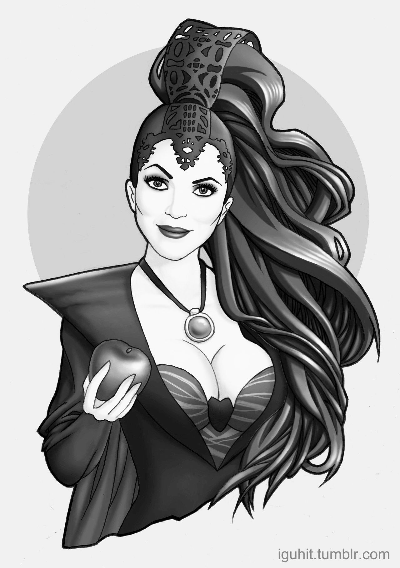 Evil Queen Drawing Tumblr